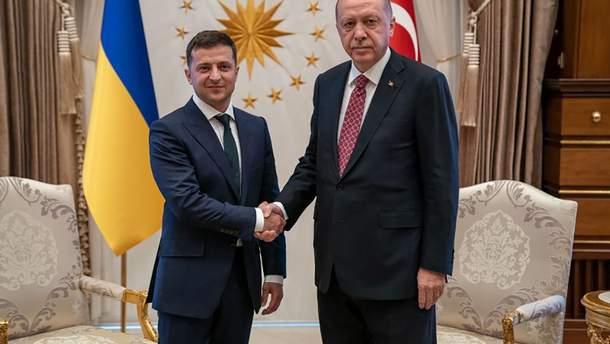 Володимир Зеленський зустрівся з Реджепом Ердоганом в Туреччині 7 серпня 2019