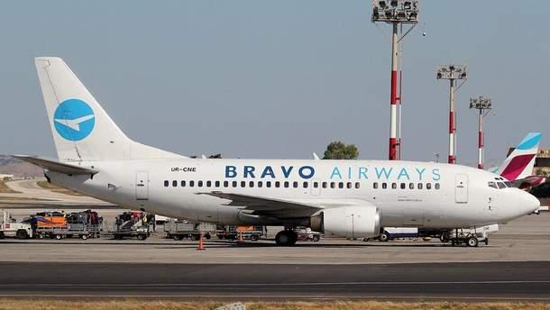 Літак Bravo Airways