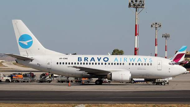 Самолет  Bravo Airways