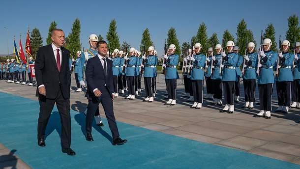 Зеленський з Ердоганом вшанували загиблих на Донбасі бійців