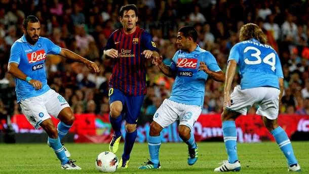 Наполи – Барселона результат