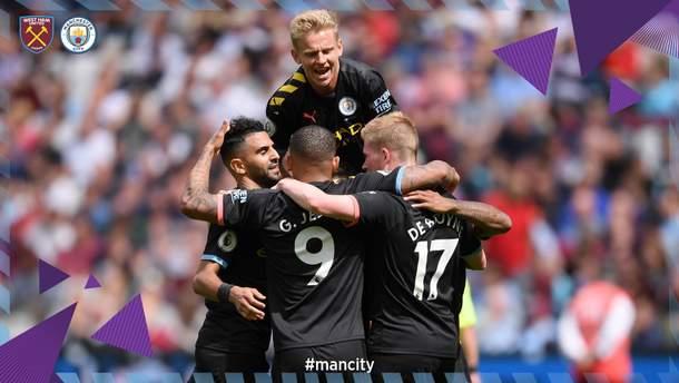 Вест Хем – Манчестер Сіті: огляд матчу 10 серпня 2019 – Чемпіонат Англії