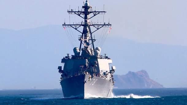 В Черное море направляется американский военный корабль: фото
