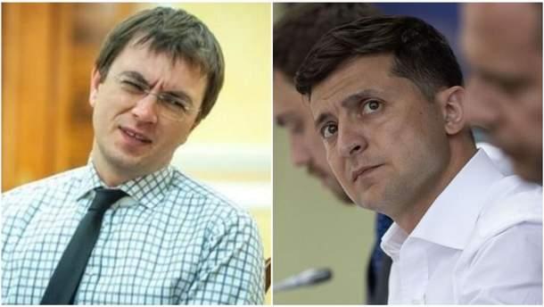 Володимир Омелян розкритикував слова президента Зеленського