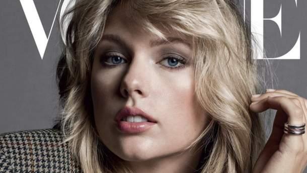 Тейлор Свифт для сентябрьского глянца Vogue US