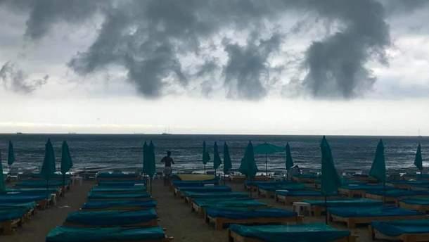 Одессу снова затапливает из-за мощных ливней