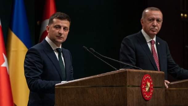 Владимир Зеленский совершил первый визит в Турцию