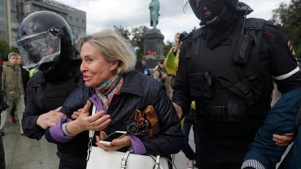 Мітинги в Москві