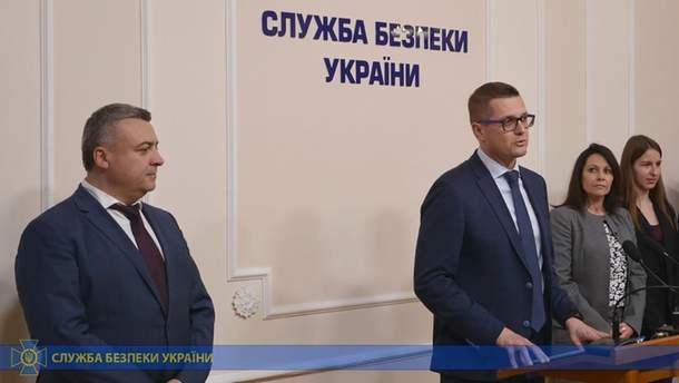Николай Кулешов рядом с руководителем СБУ Иваном Бакановым