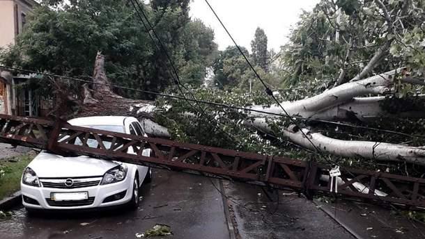 На Николаевщину пришла мощная непогода