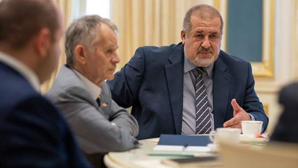 Лидеры крымских татар просят Зеленского добиться допуска ОБСЕ в Крым