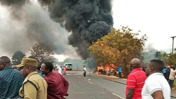 Вибух бензовоза у Танзанії: загинули 57 людей