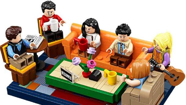 """Новий конструктор """"Друзі"""" від Lego коштуватиме 60 доларів"""