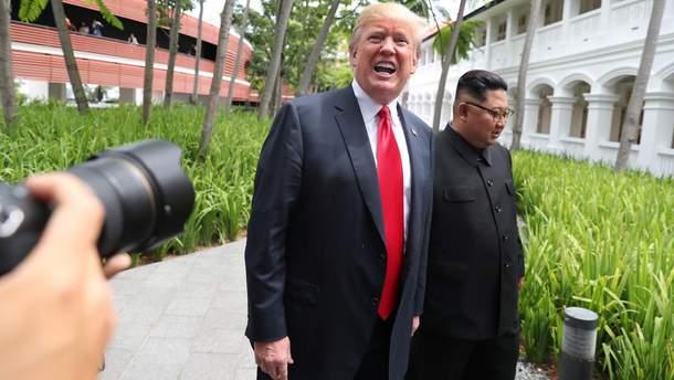 Трамп хочет новую встречу с Ыном