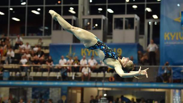 Украинка Федорова завоевала серебро на ЧЕ по прыжкам в воду, уступив в Киеве россиянке