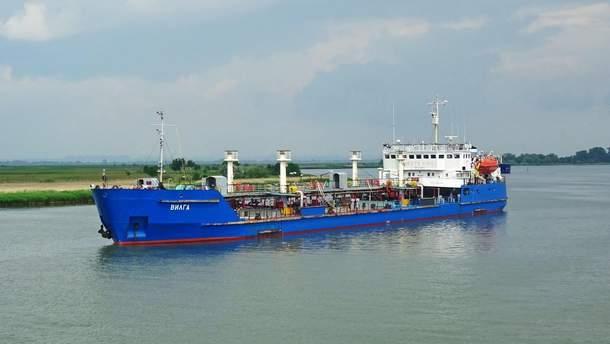 В Украине проводят обыски на корабле, поставлявшем топливо в Россию: подробности