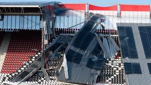 Крыша стадиона АЗ Алкмар