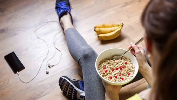 Як правильно поєднувати їжу та спорт
