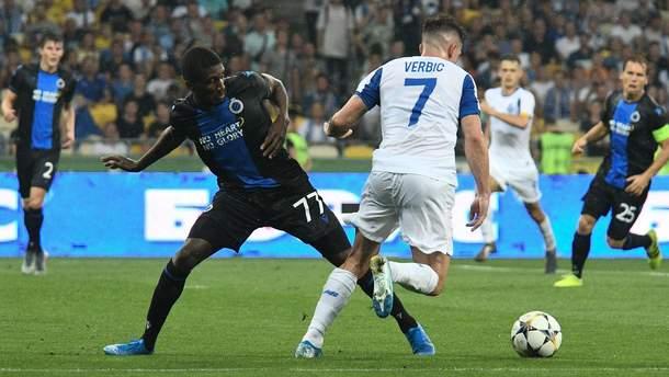 Динамо - Брюгге: огляд матчу 13 серпня 2019 - Ліга чемпіонів 2019