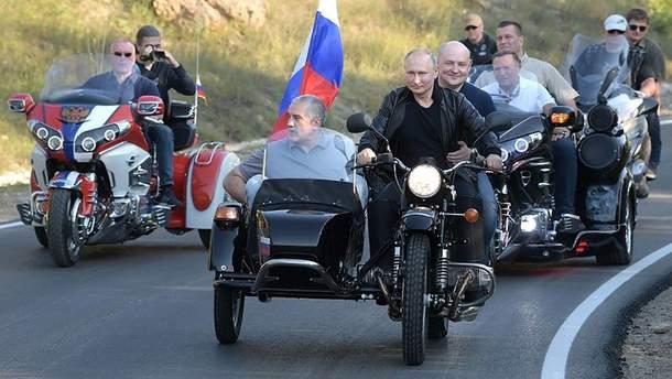 США осудили посещение оккупированного Крыма Путиным