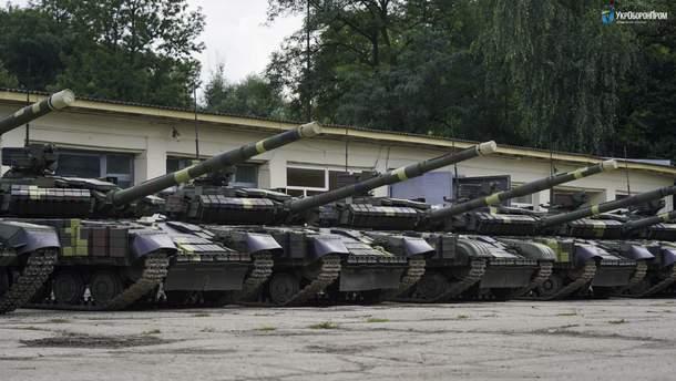"""""""Укроборонпром"""" налагодив серійну модернізацію Т-64 зразка 2017 року"""