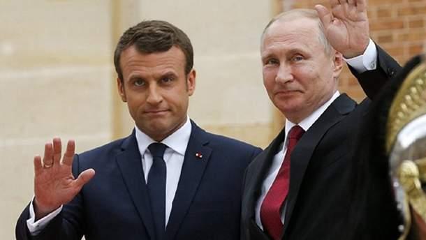 Путін і Макрон обговорять можливість відновлення нормандського формату