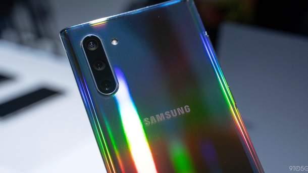 Камера Samsung Galaxy Note 10+ 5G