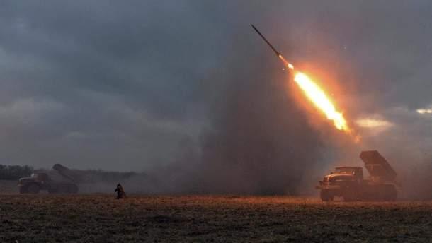 """СММ ОБСЕ зафиксировала на Донбассе 29 """"Градов"""" и 49 танков боевиков, размещенных с нарушениями"""