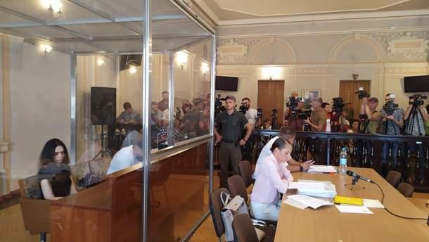 Заседание суда относительно смертельного ДТП в Харькове