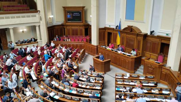 Разумков пояснил свою позицию относительно языка в стенах парламента