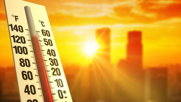 У Києві зафіксували найспекотніший день з початку року