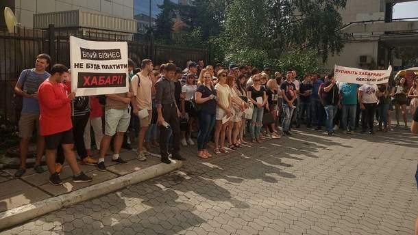 Експедитори вимагають від ДФС зупинити корупцію на Одеській митниці і припинити тиск на бізнес
