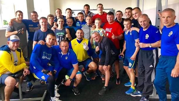 Сборная Украины по боксу