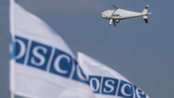 Боевики РФ сбили беспилотник миссии ОБСЕ на Донбассе