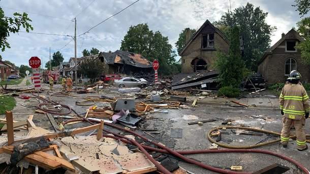 Взрыв в жилом доме в Канаде