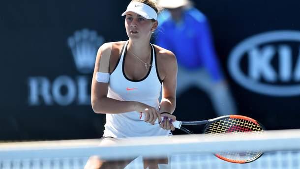 Марта Костюк  пропустить US Open-2019