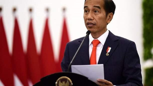 Президент Індонезії Відодо запропонував парламенту план перенесення столиці