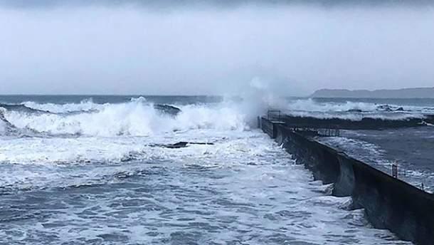 Тайфун Кросса, Япония, 15 августа 2019 – видео, фото тайфуна