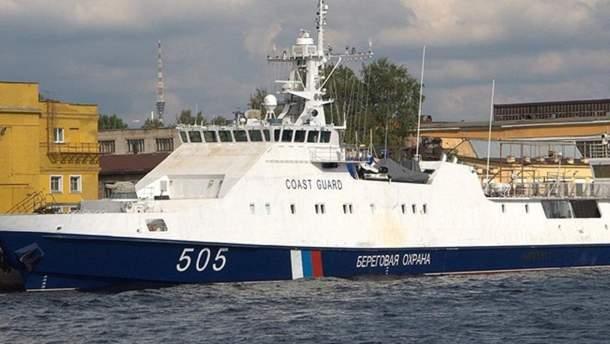 СБУ заявила о незаконных действиях оккупантов в Азовском море