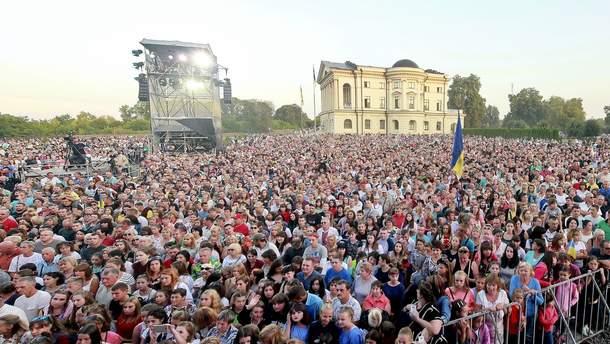 23 серпня в Батурині відбудеться грандіозний концерт до Дня Прапора України