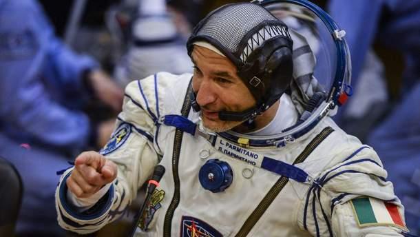 Астронавт Лука Пармитано