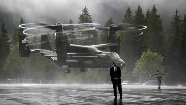 Військовий вертоліт США десантується в Баварії