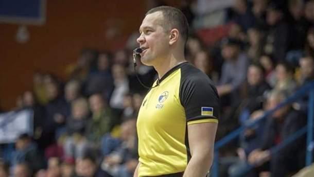 Український арбітр працюватиме на Чемпіонаті світу з баскетболу