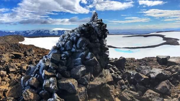 """""""Похований"""" перший льодовик, який зник через зміни клімату"""