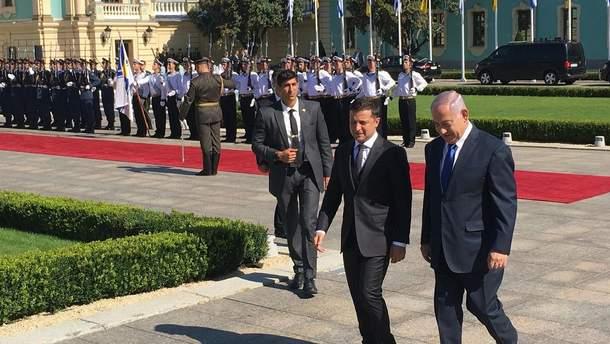 Зеленский и премьер-министр Израиля Нетаньяху – фото и видео