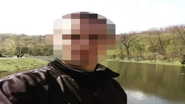 Затриманий чоловік