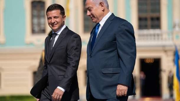 Біньямін Нетаньяху запросив Зеленського відвідати Єрусалим