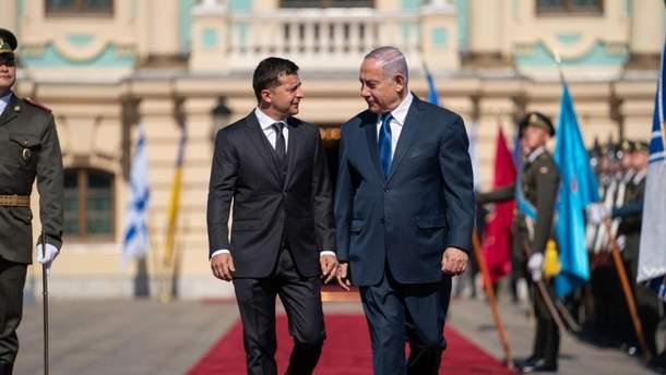 Встреча Зеленского и Нетаньяху
