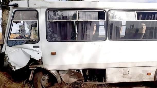 ДТП з автобусом на Черкащині