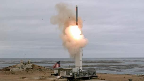 Пентагон испытал крылатую ракету с дальностью полета более 500 километров